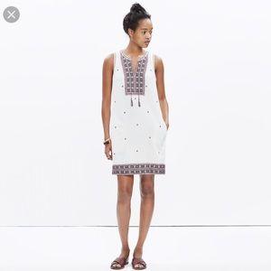 Madewell Embroidered Suncoast Dress